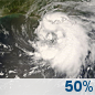 Wednesday: Tropical Storm Conditions Possible